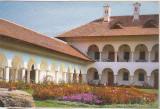 Bnk cp Sambata de Sus - Manastirea Brancoveanu - Detaliu din curtea interioara, Necirculata, Printata
