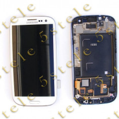 Display LCD+Touchscreen Samsung I9300 Galaxy S III Alb Swap A