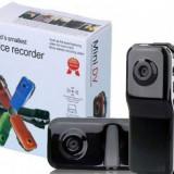 Mini camera spy SPORT auto bicicleta MD 80 spion Activare vocala + Card 8GB ! - Camera spion