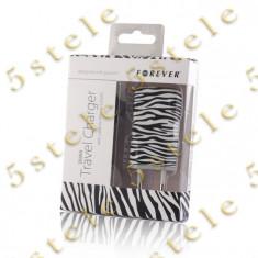 Incarcator Retea USB 1A Forever model - Zebra Blister