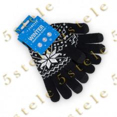Forever Manusi pentru Afisaje Tactile (Touchscreen) Negru Model - Manusi touchscreen