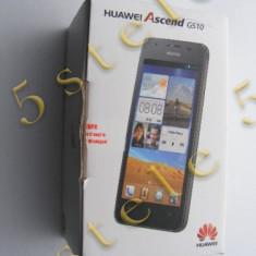 Telefon Huawei Ascend G510 (868038013193959)Negru Swap, 4GB, Neblocat