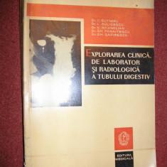 EXPLORAREA CLINICA DE LABORATOR SI RADIOLOGICA A TUBULUI DIGESTIV - Carte Radiologie
