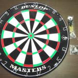 Set profesional Darts Dunlop Masters placa darts + 2 seturi sageti metalice