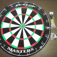 Set profesional Darts Dunlop Masters placa darts + 2 seturi sageti metalice - Set Darts
