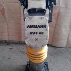 Compactor mai AMMANN AVS 68 in 4 timpi cu motor Honda gx100 - Mai compactor