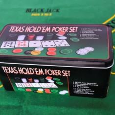 Poker 200 piese - Set poker