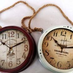 Ceas vintage (culoare: alb)