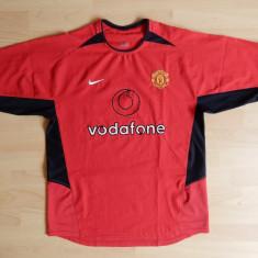 Tricou Nike Manchester United; marime M: 54.5 cm bust, 62 cm lungime; impecabil - Tricou barbati Nike, Marime: M, Culoare: Din imagine, Maneca scurta