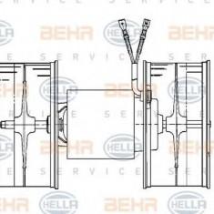 Ventilator, habitaclu MERCEDES-BENZ limuzina 200 - HELLA 8EW 009 159-711 - Motor Ventilator Incalzire