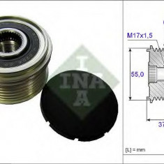 Sistem roata libera, generator MITSUBISHI OUTLANDER SPORT 1.8 - INA 535 0246 10 - Fulie