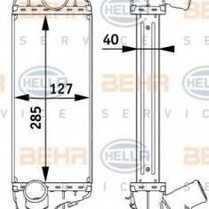 Intercooler, compresor MINI MINI One D - HELLA 8ML 376 729-551 - Intercooler turbo