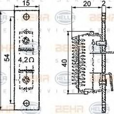 Rezistor, ventilator habitaclu - HELLA 9ML 351 332-051 - Motor Ventilator Incalzire