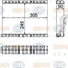 Evaporator, aer conditionat BMW 5 525 d xDrive - HELLA 8FV 351 330-661