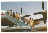 @carte postala(ilustrata)-TAROM -Aviatie