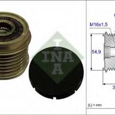 Sistem roata libera, generator FIAT DUCATO caroserie 140 Natural Power - INA 535 0176 10 - Fulie