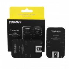 Transmitator trigger + receptor E-TTL model YN-622N - Set (2 buc) pt. Nikon, Altul, Yongnuo