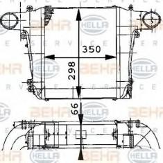 Intercooler, compresor - HELLA 8ML 376 724-131 - Intercooler turbo