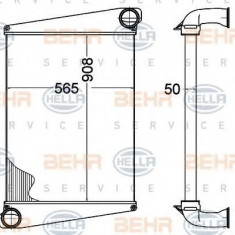 Intercooler, compresor VOLVO B 7 B 7 - HELLA 8ML 376 758-221 - Intercooler turbo