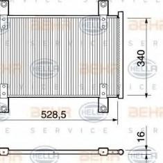 Condensator, climatizare PEUGEOT BOXER bus 2.0 - HELLA 8FC 351 303-581 - Radiator aer conditionat
