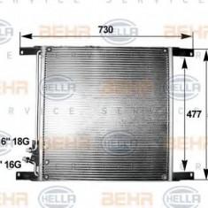 Condensator, climatizare DAF 95 XF FA 95 XF 380 - HELLA 8FC 351 300-041 - Radiator aer conditionat