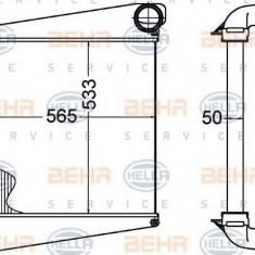 Intercooler, compresor VOLVO FLC FLC 140 - HELLA 8ML 376 758-181 - Intercooler turbo