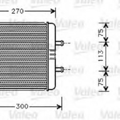 Schimbator caldura, incalzire habitaclu - VALEO 812340 - Sistem Incalzire Auto