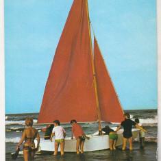 Bnk cp Vacanta la mare - Vedere - necirculata - Carte Postala Dobrogea dupa 1918, Printata