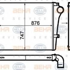 Intercooler, compresor VOLVO B 12 B 12 - HELLA 8ML 376 792-041 - Intercooler turbo