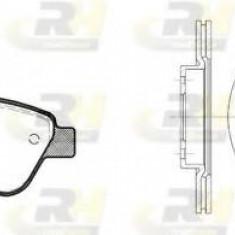 Set frana, frana disc FIAT RITMO III 1.4 LPG - ROADHOUSE 8858.00 - Placute frana Trw