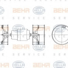 Ventilator, habitaclu BMW 3 limuzina 316 - HELLA 8EW 009 157-571 - Motor Ventilator Incalzire