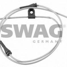 Senzor de avertizare, uzura placute de frana BMW 5 Touring 520 i - SWAG 20 92 1072 - Senzor placute