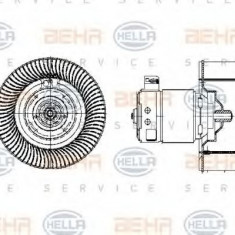 Ventilator, habitaclu BMW 3 limuzina 318 i - HELLA 8EW 009 158-041 - Motor Ventilator Incalzire