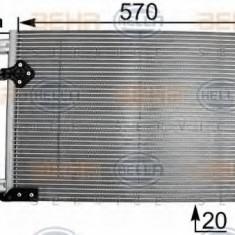 Condensator, climatizare RENAULT ESPACE Mk III 1.9 dTi - HELLA 8FC 351 301-261 - Radiator aer conditionat