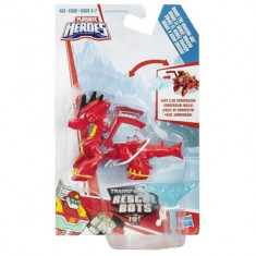 Jucarie Playskool Heroes Transformers Rescue Bots Drake The Dragon-Bot - Vehicul
