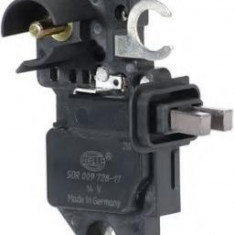Regulator, alternator FIAT BARCHETTA 1.8 16V - HELLA 5DR 009 728-171 - Regulator tensiune alternator