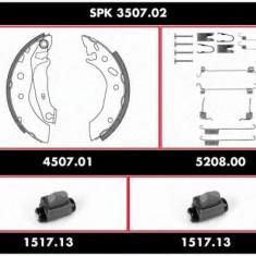 Set frana, frana tambur FORD FIESTA Mk IV 1.3 i - ROADHOUSE SPK 3507.02 - Placute frana Trw