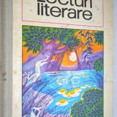 Lecturi literare, manual pentru clasa a VIII -a, 1974 - Carte Antologie