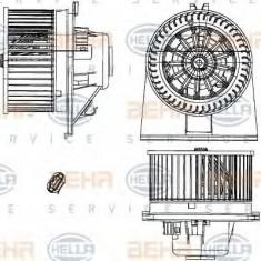 Ventilator, habitaclu VW POLO limuzina 75 1.6 - HELLA 8EW 351 303-361 - Motor Ventilator Incalzire