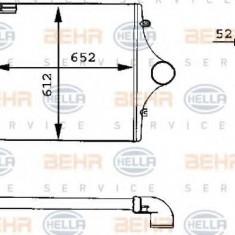 Intercooler, compresor MAN F 90 19.362 F, 19.362 FL, 19.362 FLL - HELLA 8ML 376 723-761 - Intercooler turbo