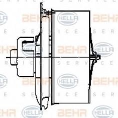 Ventilator, habitaclu MERCEDES-BENZ O 402 O 402 - HELLA 8EW 009 158-581 - Motor Ventilator Incalzire