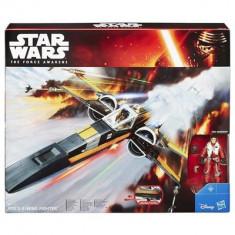 Jucarie Star Wars The Force Awakens Vehicle Poe Dameron'S X-Wing - Vehicul Hasbro
