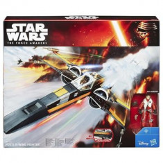 Jucarie Star Wars The Force Awakens Vehicle Poe Dameron'S X-Wing - Vehicul Hasbro