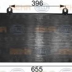 Condensator, climatizare AUDI 90 2.0 - HELLA 8FC 351 300-021 - Radiator aer conditionat