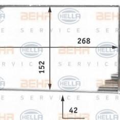Schimbator caldura, incalzire habitaclu MERCEDES-BENZ T1 caroserie 210 2.3 - BEHR HELLA SERVICE 8FH 351 312-251 - Sistem Incalzire Auto