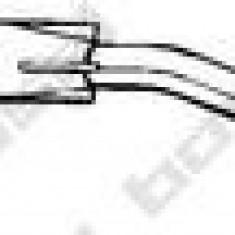 Toba esapamet intermediara SUBARU JUSTY  1000 - BOSAL 292-591 - Toba finala auto