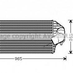Intercooler, compresor RENAULT ESPACE Mk III 2.2 12V TD - AVA QUALITY COOLING RT4298 - Intercooler turbo