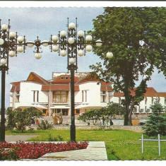 @carte postala(ilustrata)-TARGU MURES-Teatru - Carte Postala Transilvania dupa 1918, Circulata, Printata