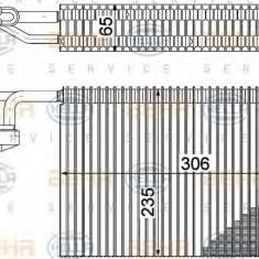 Evaporator, aer conditionat BMW 7 limuzina 735 i, Li - HELLA 8FV 351 211-311