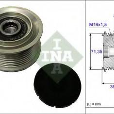 Sistem roata libera, generator MERCEDES-BENZ ATEGO 1017 KO, 1018 KO - INA 535 0078 10 - Fulie